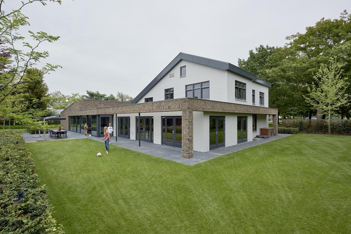 Bendien wierenga architecten villa waalwijk uitbreiding