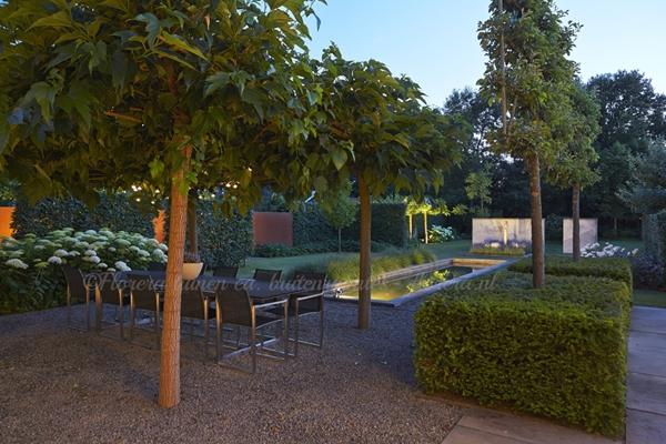 Florera Tuinen Ea Buitenruimtes Weergaloze Strakke Moderne Tuin