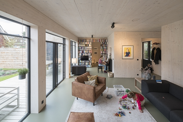 Forbo flooring active house schiedam architectenweb.nl