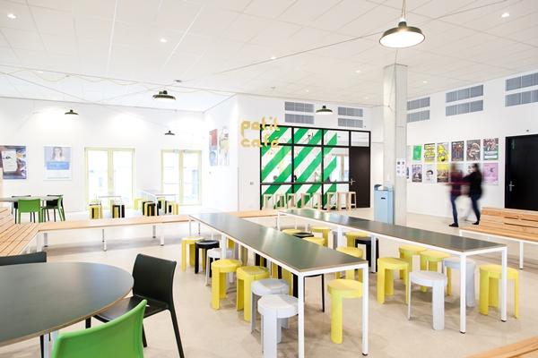 Ateliers interieur ijburg college ii architectenweb.nl