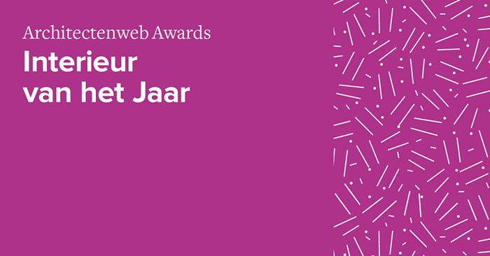 architectenweb awards interieur van het jaar architectenwebnl