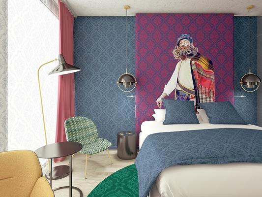Interieurontwerp nhow hotel amsterdam rai gepresenteerd
