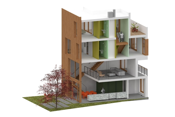 Bergblick interieurarchitectuur cpo huis architectenweb