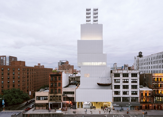 Slaapbank Manhattan Vd.New Museum In New York Kiest Oma Voor Zijn Tweede Gebouw