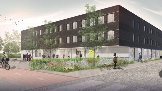 HEVO | Nieuwbouw duurzaam schoolgebouw - Architectenweb