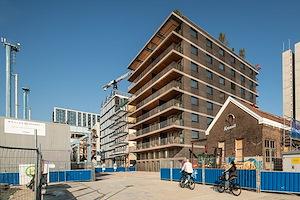 Woongebouw van Workshop Architecten op Oostenburg opgeleverd