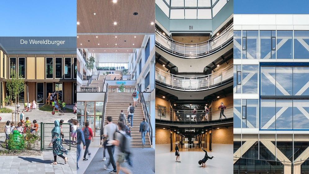 Nominaties Schoolgebouw van het Jaar 2021 bekend - architectenweb.nl - Architectenweb