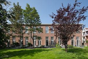 Zes verschillende woningen in een voormalig schoolgebouw