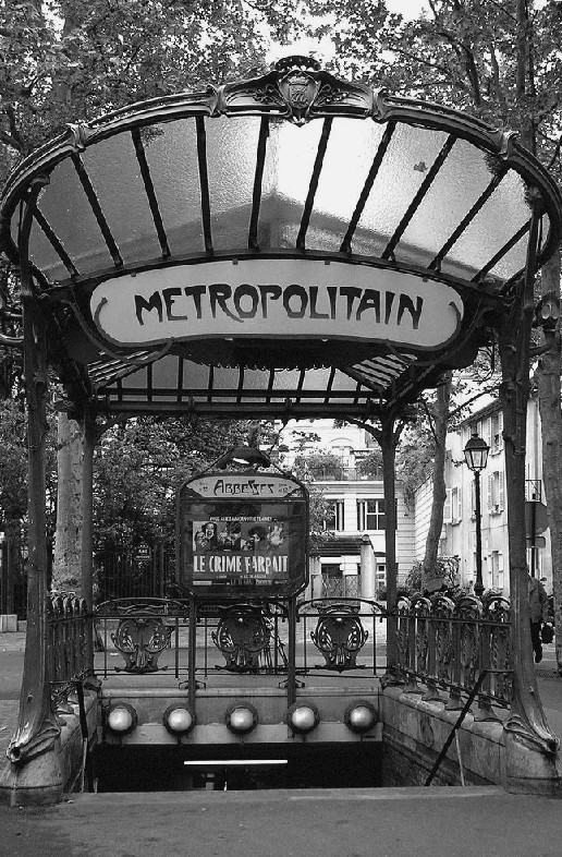 Metrostations Parijs