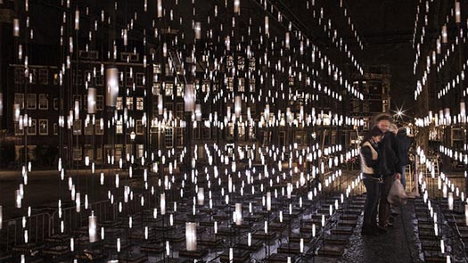 Alley of Light, Amsterdam