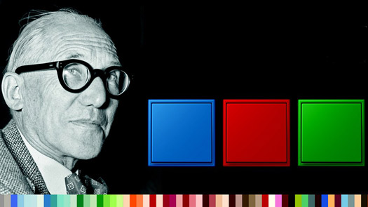 JUNG LS 990 in Les Couleurs� Le Corbusier