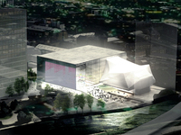 OMA ontwerpt cultuurcomplex in Manchester