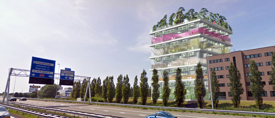 GreenNest integreert hotel en tuinbouwbeleving