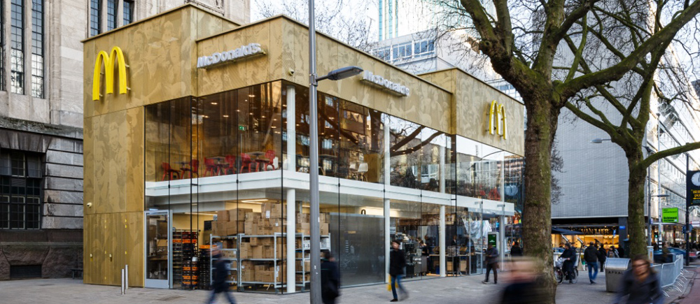 McDonald's-paviljoen Coolsingel heropend