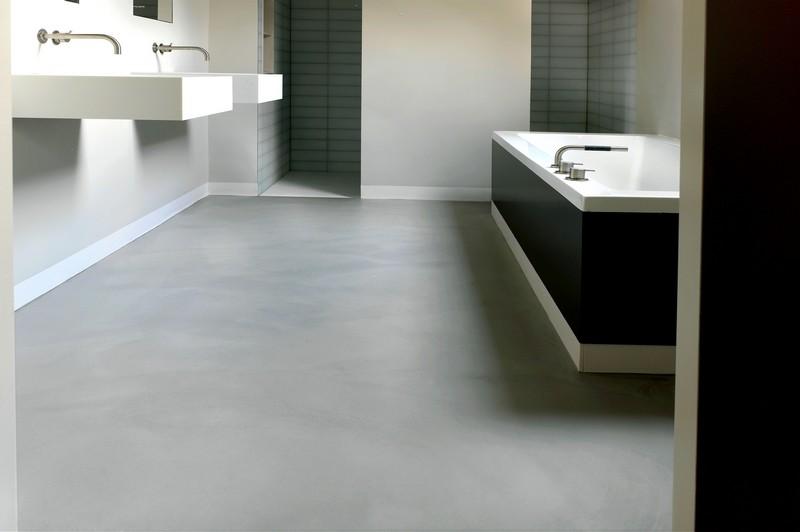 Nieuwe Badkamer Kopen ~ Gietvloer Specialist  DRT Gietvloeren (Product)  DRT Gietvloeren