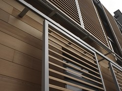 DucoSlide LuxFrame Wood