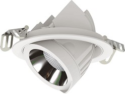 DecaLED Downlight Scope Range