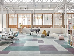 Tarkett LVT Kantoor Collectie: iD Square
