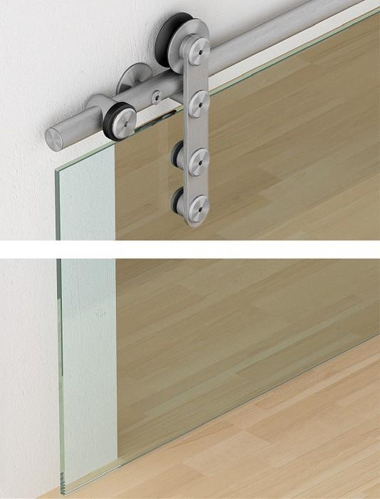 Häfele Nederland (Product) - Schuifdeurbeslag voor glazen deuren ...