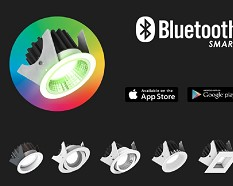 LLE LED Bluetooth Smart RGB Downlighters