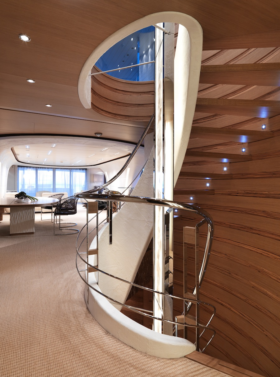 Trappen in SuperYachts